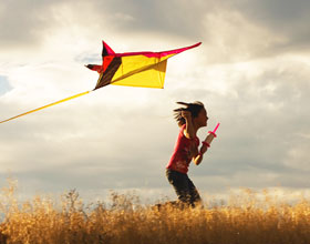 Kite Flying In Rajasthan