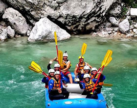 Rafting In North East India